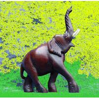 Elefant Rüssel hoch, 13.5 cm