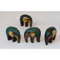 Elefant mini Bronze Höhe ca. 5 cm