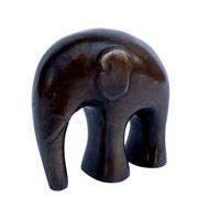 Elefant round design Antik Bronze Höhe 8cm