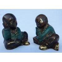 Kleiner Mönch Bronze 7 cm