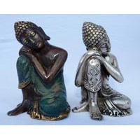 Buddha ruhend Bronze 10 cm