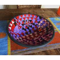 Schale Purple Terrakotta