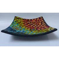 Schale Rainbow 3er Set Terracotta QUADRAT