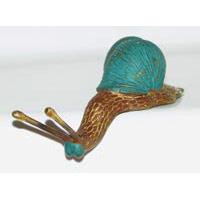Schnecke Bronze klein ca. 10 cm