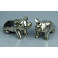 Schwein Bronze Länge ca. 13 cm