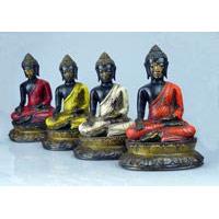 Buddha meditierend Fiberglas 20 cm
