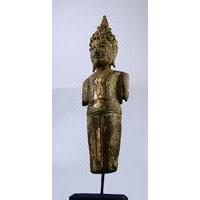 Buddha Torso Holz Antik 50cm