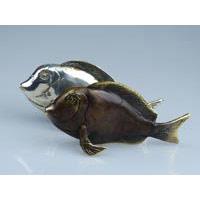 Fisch Bronze 16 cm