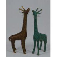 Giraffe Bronze 15 cm