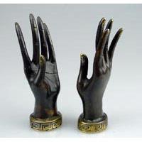 Hand Bronze 16 cm