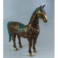 Pferd Bronze Länge 38 cm