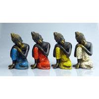 Buddha ruhend Fiberglas 14 cm