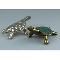 Schildkröte Bronze 13 cm