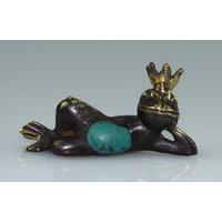 Yoga Froschkönig liegend Set